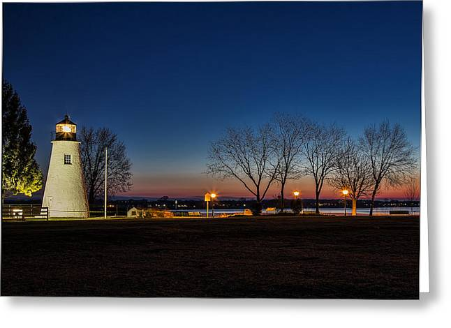 Concord Point Greeting Cards - Lighting Up The Morning Greeting Card by Deborah Felmey