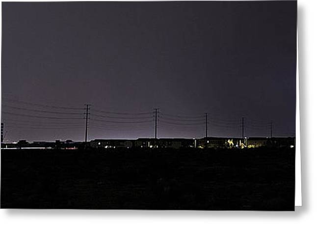4th July Photographs Greeting Cards - Lightning Over Las Vegas 3 Greeting Card by James Sage