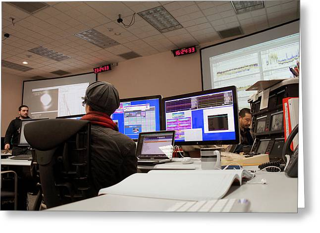 Ligo Gravitational Wave Detector Research Greeting Card by Caltech/mit/ligo Lab