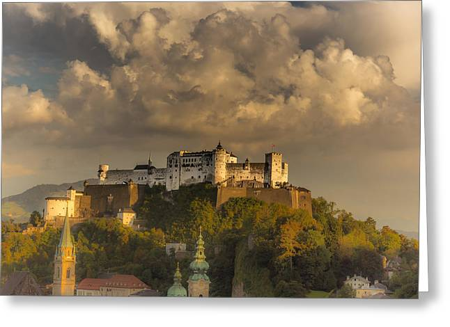 Austria Greeting Cards - Like a fairytale Greeting Card by Chris Fletcher
