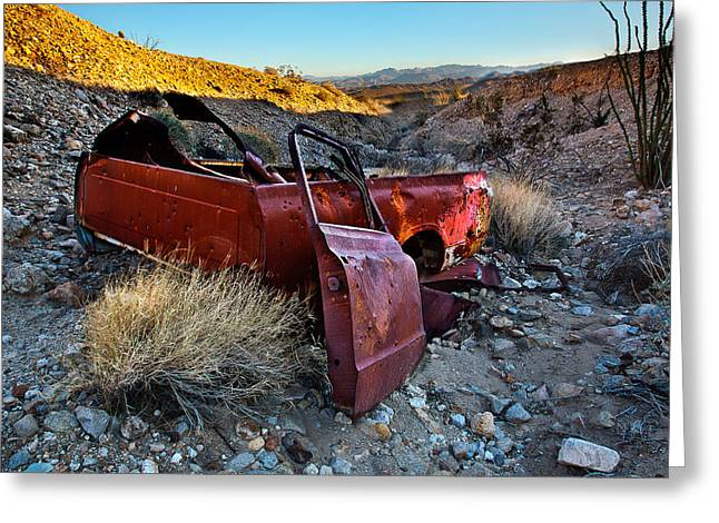 Chevy Pickup Greeting Cards - Like a Rock Greeting Card by Peter Tellone