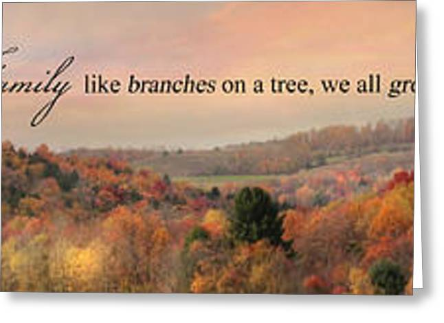 Tree Roots Greeting Cards - Like Branches Greeting Card by Lori Deiter