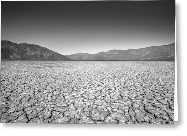 Dry Lake Greeting Cards - Like the Deserts miss the Rain Greeting Card by Alexander Kunz