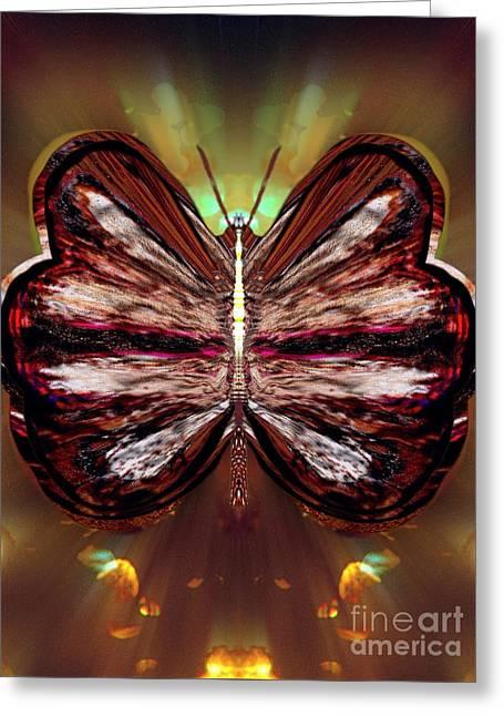 Angel Blues Greeting Cards - Lila Suntwinkle Greeting Card by Raymel Garcia