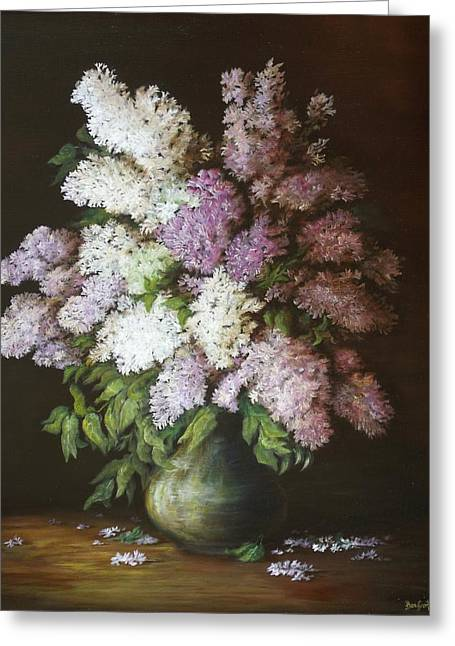 Pictura Greeting Cards - Lilac Greeting Card by Dan Scurtu