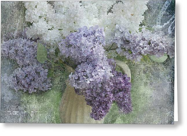 lilac Greeting Card by Jeff Burgess