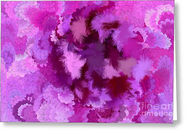Lilac of the Valley Greeting Card by Holley Jacobs