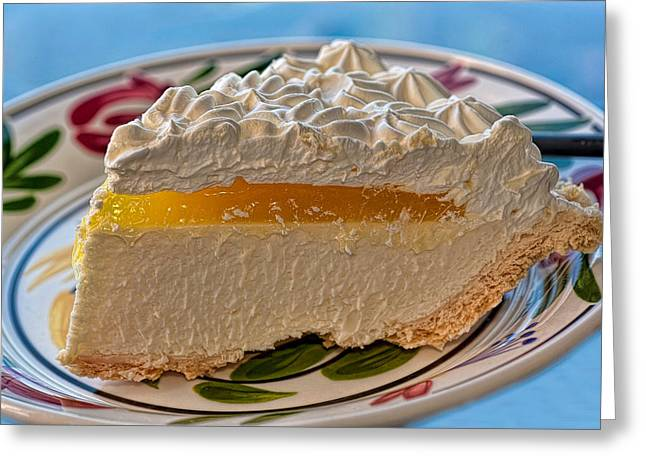 Passion Fruit Photographs Greeting Cards - Lilikoi Cheese Pie Greeting Card by Dan McManus