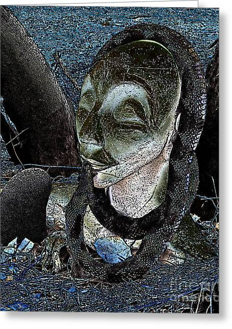 Greek Sculpture Greeting Cards - Lilith Greeting Card by L T Sparrow