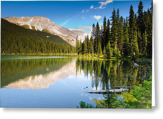 Galatea Greeting Cards - Lillian Lake Greeting Card by Brandon Smith