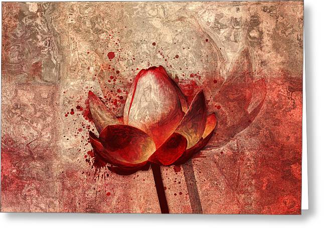 Nenuphar Greeting Cards - Lily My Lovely - 11a Greeting Card by Variance Collections