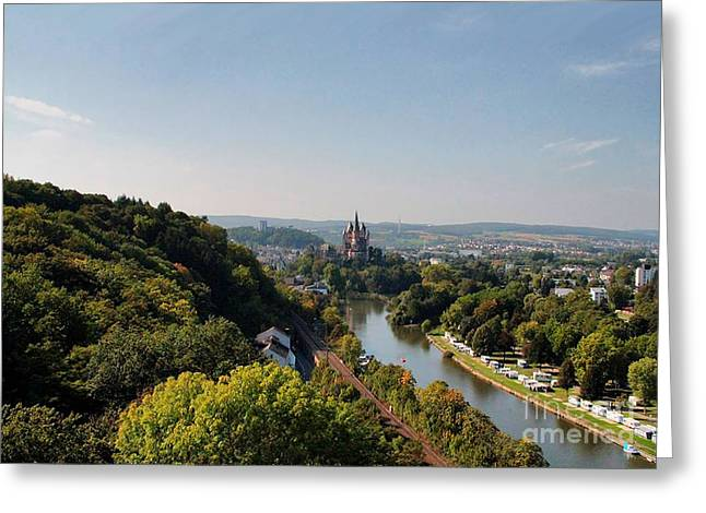 Limburg Greeting Cards - limburg 9 Limburg an der Lahn Greeting Card by Manik