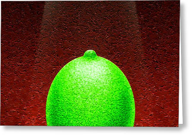 LIMELIGHT Greeting Card by Cristophers Dream Artistry