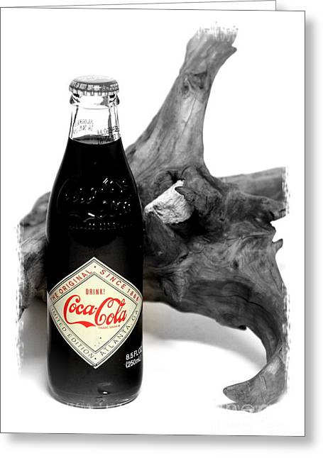 Sodamuseum Greeting Cards - Limited Edition Coke - No.438 Greeting Card by Joe Finney