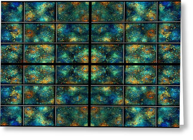 Infinite Greeting Cards - Limitless Night Sky Greeting Card by Betsy C  Knapp