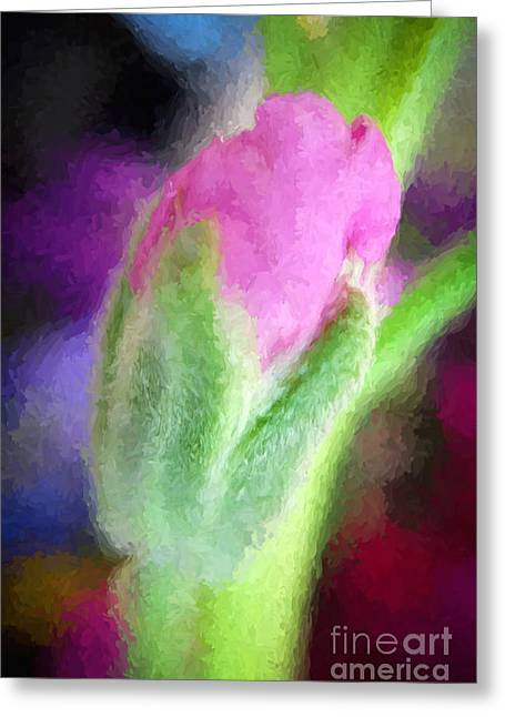 Emergence Greeting Cards - Limitless Potential Greeting Card by Kerri Farley