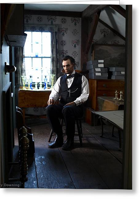 Best Sellers -  - Ray Downing Greeting Cards - Lincoln in the Attic 2 Greeting Card by Ray Downing