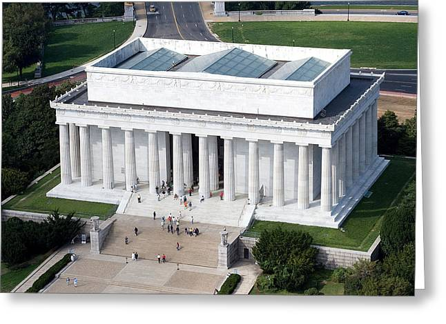 Highsmith Greeting Cards - Lincoln Memorial Greeting Card by Carol Highsmith