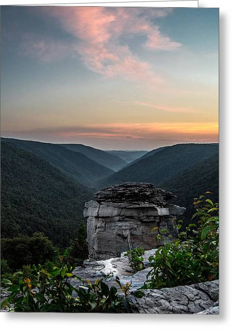 Lindy Greeting Cards - Lindy Point Greeting Card by Anthony Thomas