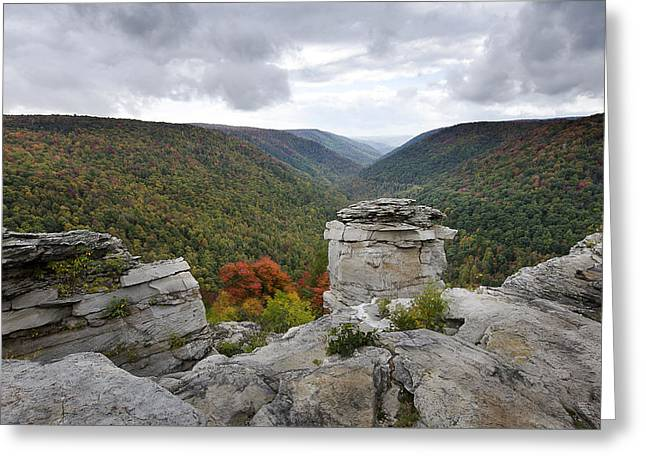 Lindy Greeting Cards - Lindy Point in Fall Greeting Card by Michael Donahue