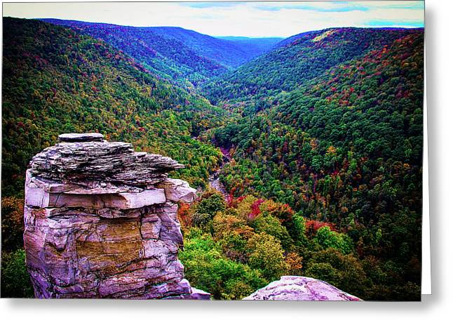 Lindy Greeting Cards - Lindy Point in the Fall  Greeting Card by John  Hannan