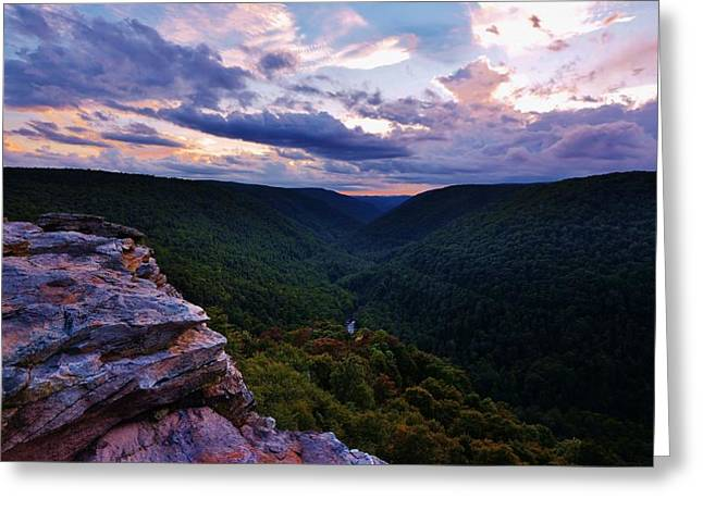 Lindy Greeting Cards - Lindy Point Sunset Greeting Card by Joshua Rexrode