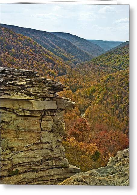Lindy Greeting Cards - Lindy Point Greeting Card by Thomas Dean