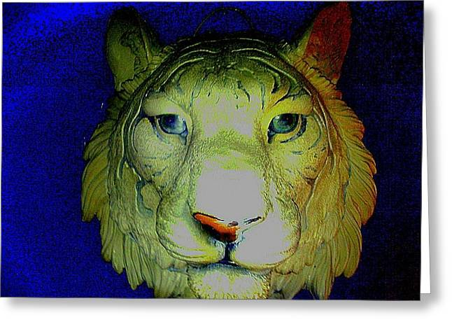 Lions Sculptures Greeting Cards - Lions Den Greeting Card by Tracie Howard