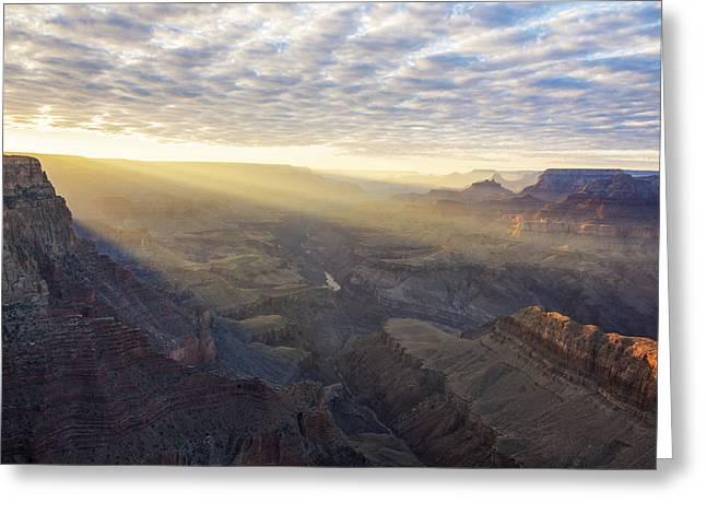 Lipon Point Sunset - Grand Canyon National Park - Arizona Greeting Card by Brian Harig