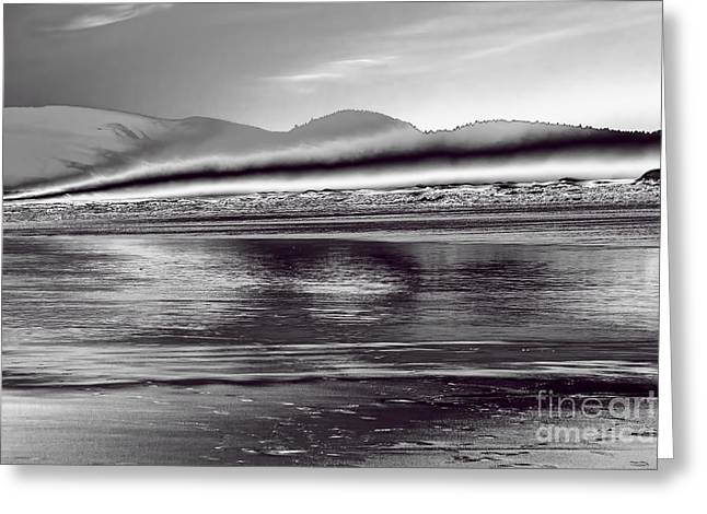 Liquid Metal Greeting Card by Jon Burch Photography