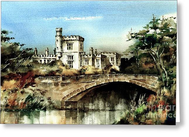 Val Byrne Greeting Cards - Lismore Castle Waterford Greeting Card by Val Byrne