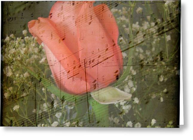 Angels Breath Greeting Cards - Listen to the Music Greeting Card by Carol Grenier