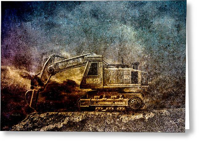 Recently Sold -  - Toy Shop Greeting Cards - Little Big Truck Greeting Card by Bob Orsillo