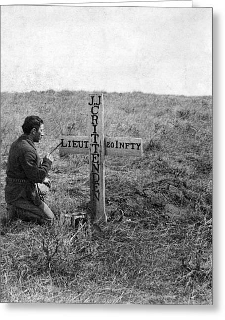 Little Bighorn Battlefield Greeting Card by Granger