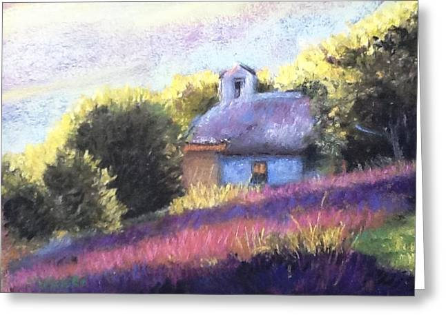 Cindy Plutnicki Greeting Cards - Little Chapel Greeting Card by Cindy Plutnicki