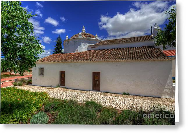 Praia De Faro Greeting Cards - Little Church Greeting Card by English Landscapes