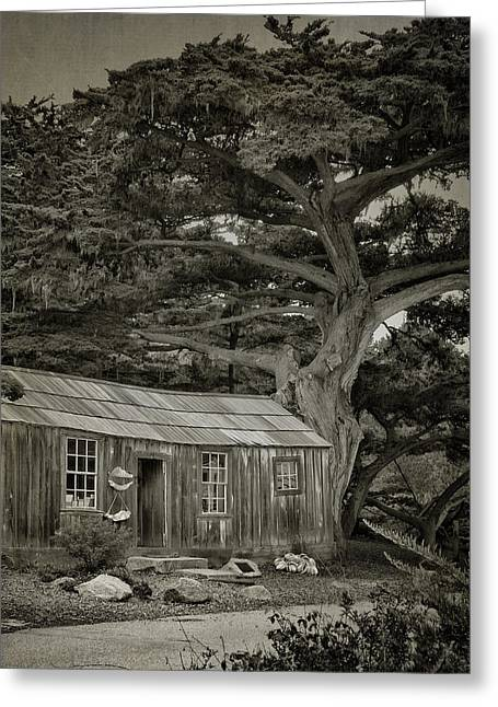 Big Sur Ca Greeting Cards - Little Conch House Greeting Card by Lorraine Jones