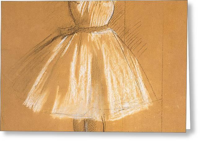 Little Dancer Greeting Card by Edgar Degas