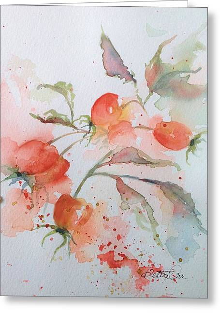 Loose Greeting Cards - Little Gems Greeting Card by Bette Orr