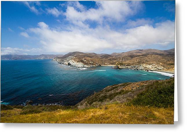 Saint Catherine Photographs Greeting Cards - Little Harbor Greeting Card by Lauren Goia