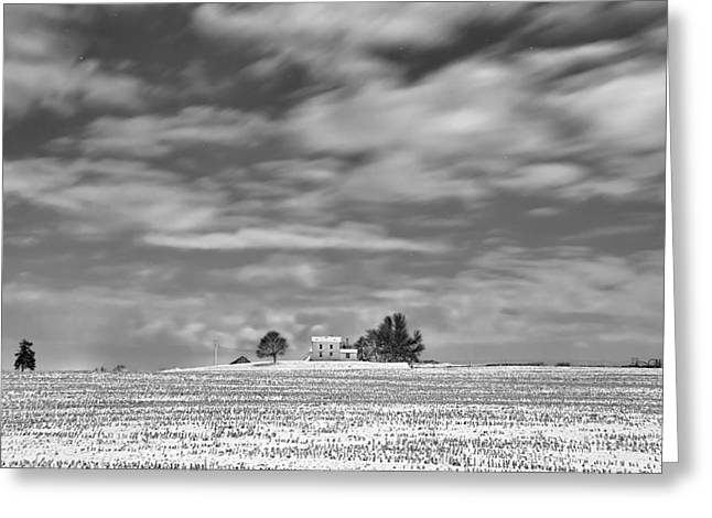 Shed Greeting Cards - Little House on the Prairie Greeting Card by Tom Phelan