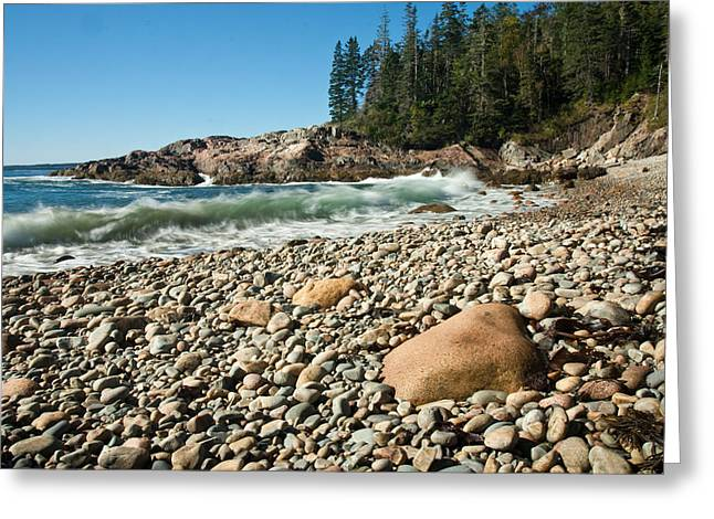 Ocean Photography Greeting Cards - Little Hunters Beach  0009 Greeting Card by Brent L Ander