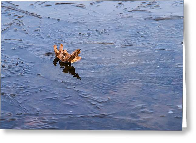Little Navy - Fram In Pack Ice - Featured 3 Greeting Card by Alexander Senin