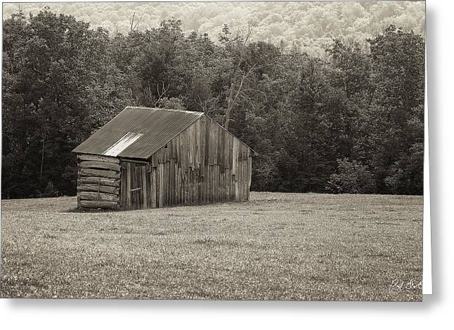 Canada Greeting Cards - Little Old Barn Greeting Card by Phill  Doherty