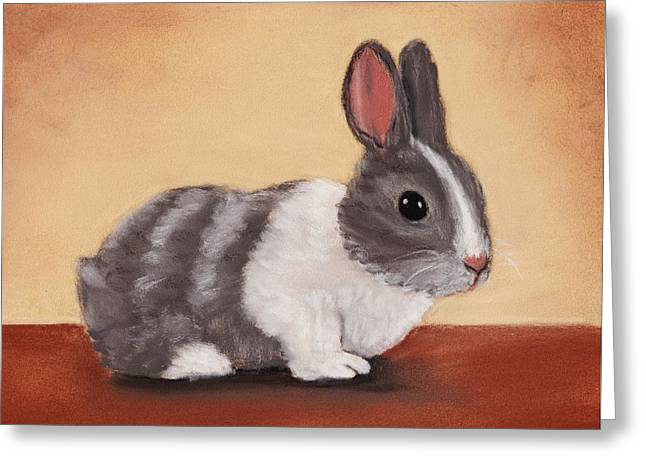 Fur Pastels Greeting Cards - Little One Greeting Card by Anastasiya Malakhova