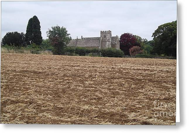 Little Rissington Church 2 Greeting Card by John Williams