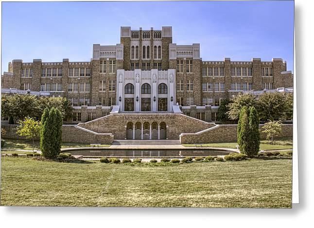 Race Relations Greeting Cards - Little Rock Central High School Greeting Card by Jason Politte