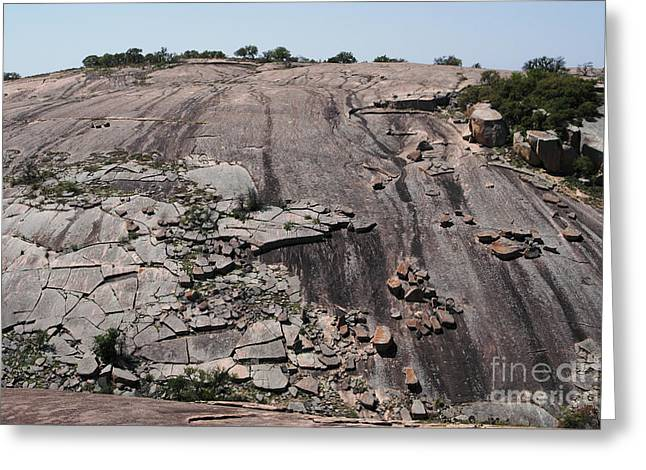 Tor Greeting Cards - Little Rock, Part Of Enchanted Rock Greeting Card by Gregory G. Dimijian