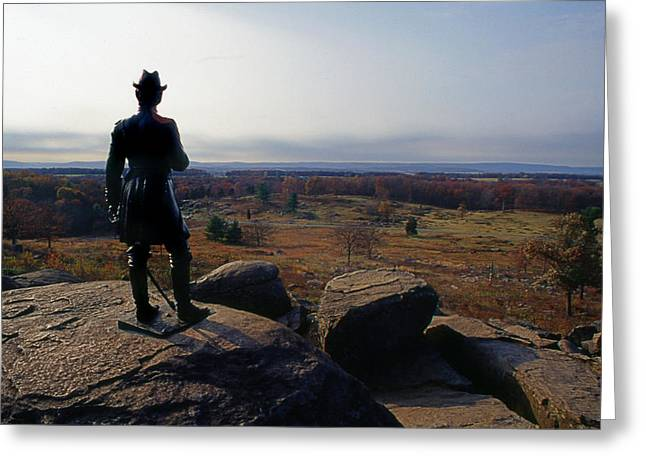 Penna Greeting Cards - Little Round Top Greeting Card by Skip Willits