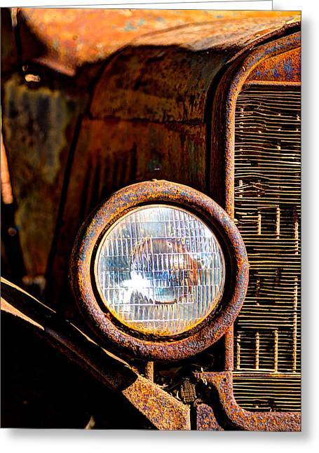 Old Truck Photography Greeting Cards - Little Rust Never Hurt Anyone Greeting Card by Tamara Dattilo